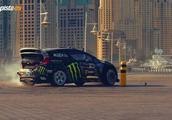 Ken Block驾驶650马力福特嘉年华在迪拜街头疯狂漂移