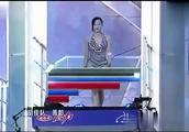 知名女主持陈辰与黄龄比拼跳水,重复看了十几遍!