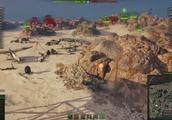 坦克世界:轻坦漂移,那叫一个帅气
