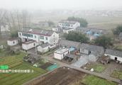 春节航拍苏北农村年景:江苏首富严介和老家人怎样面对拆迁?