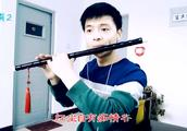 一首经典金曲《梅花三弄》,笛子版本的好听极了!