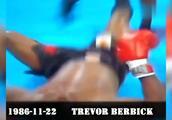 泰森巅峰期的经典暴力ko,重拳如铁炮,打的对方怀疑人生