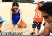 新加坡最为迷人的度假小岛—圣淘沙,马景涛一家人玩的很高兴!