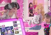 芭比之梦想豪宅:拉奎尔和猫咪PK成为网络红人,和芭比一起学猫叫