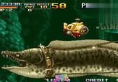 合金弹头4 潜水艇攻击力还是非常强大的但是敌人也不是吃素的