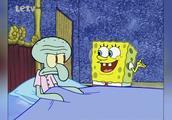 海绵宝宝:海绵宝宝真是个好邻居,担心章鱼哥睡过头叫他起床