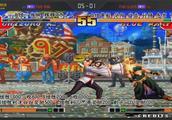 拳皇97:夜枫辉辉VS五大高手之东京叔叔篇,师徒之间的较量