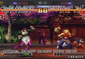 拳皇97:3V3组队赛之陈阳VS夜枫,高手之间的战斗