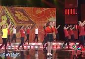 乌兰图雅载歌载舞演唱《福从中国来》太美了,不愧是蒙古之花