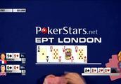 德州扑克:99对QQ打满底池,强行加注让对手盖牌
