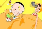 大头儿子小头爸爸:睡眠保卫战好累啊,大头儿子也睡着了!