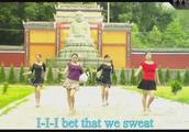 广场舞视频《西班牙恰恰》,舞姿教学,一学就会