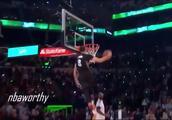 【回顾】2015年NBA扣篮大赛,拉文惊天4扣一战成名!