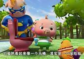 猪猪侠:猪猪侠见到公鸡,居然很眼熟,是不是在哪里见过啊
