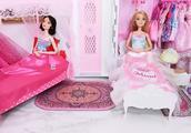 白雪公主的晚礼服 长发公主盛装打扮