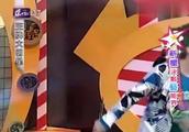 《王牌大明星》艾成《大侠艾吃汉堡包》唱完,主持人:厉害