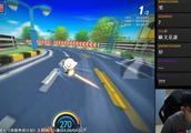跑跑卡丁车:爆哥近乎变态的贴弯技巧,变身模仿达人送福利