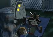 《终极蜘蛛侠》蜘蛛侠彼得以为自己看花眼了,浣熊竟会说话?