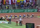 苏炳添60米到底有多强,看他的比赛也许你就会明白,60米6秒43!