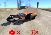 BeamNG:通过各种极端残忍车祸碰撞,测试汽车底盘和发动机性能