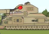 坦克世界动画:套个水桶当头盔?无法阻挡的S系溃败之路!