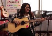乐风吉他-今天我们来学习左右手的练习,第一把位的音节