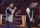 中国好声音,朱强张磊合唱李健老师的《车站》,原唱听了也夸赞