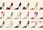 高跟鞋的英文怎么写?