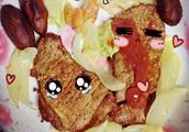 雨润烤香猪排怎么吃