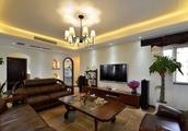 101平3室2厅1厨1卫,美式混搭风格时尚,主卧室阳台做成了榻榻米,武汉顺民宜盛花园B1户型