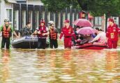 中国因洪水损失的财产数字