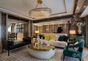 有钱人都这么装!深圳博林天瑞145平米4室2厅1厨2卫现代风格豪宅设计