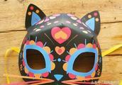 日本半猫脸面具图片大全