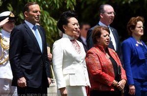 彭丽媛陪同习主席访问澳大利亚首都堪培拉