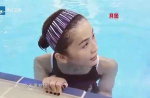 中国星跳跃阿Sa蔡卓妍5米台第一跳,秀完美好身材!