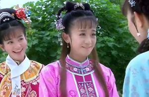 新还珠格格:紫薇初入皇宫,便引得皇上注意,才女果然不一样