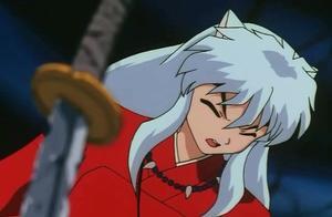 杀生丸无法拔出铁碎牙,因为这把刀是留给犬夜叉的,扎心了