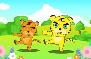 儿童歌曲《两只老虎、恭喜恭喜》经典儿歌串烧 优贝动画儿歌