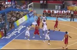 中国男篮-这是我见过易建联,最霸气的一球,厉害