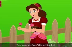 英语童话故事 Snow White And Rose Red 白雪公主和红玫瑰