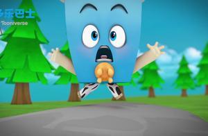 多乐巴士动画-水果勇士:与爆米花钢铁侠的极限赛跑 谁会赢呢