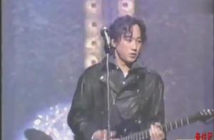 【BEYOND】家驹罕见演唱《光辉岁月》+《坚持信念》黑皮衣现场版