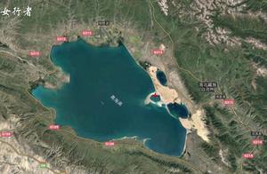 """谷歌地图发现""""青海湖沙岛"""",沙岛原来是湖中的小岛!"""