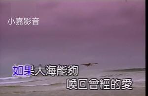 一直以为张雨生《大海》是情歌,现在才听懂歌词的含义,太感动了