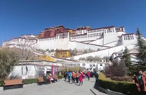 西藏布达拉宫,一个干净又不拥挤的景点,里面不能拍照只能拍外观