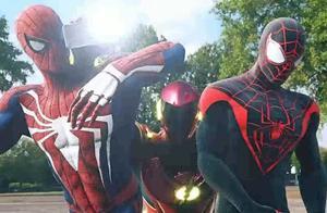 闪电侠仗着速度快欺负蜘蛛侠,结果让自己输的很没面子