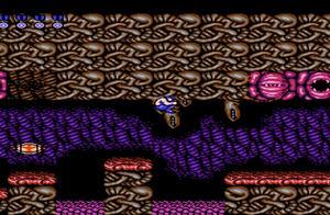 沙漠游戏《魂斗罗》第1速通关一命攻略娱乐解说