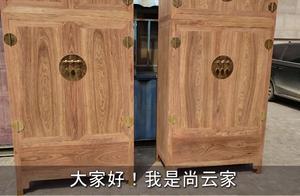 大城县中国红木大集-非花顶箱柜纹理好,价格超实惠,十分大气。