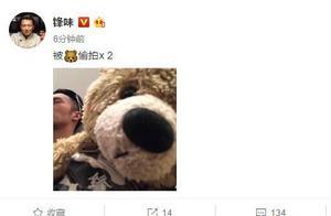 谢霆锋晒被偷拍睡觉照,网评是王菲拍的么?