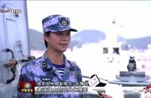 """曾称""""此生嫁给海军""""的十九大代表韦慧晓,系海军首位女副舰长"""